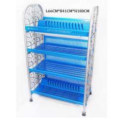 toyogo 998-4 4 tier dish rack l66*b41*h108cm